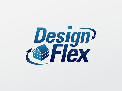 Design Flex arrows flex blue house home