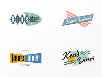 Rejected Ken's Diner logo