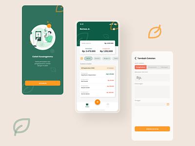 Note Money UI Concept animation typography modern ui design mobile app design mobile ux ui design app