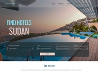 Booking Sudan home page