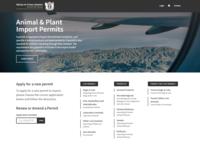 Animal & Plant Import Permits —App