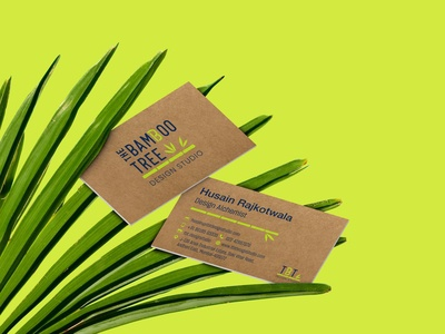 The Bamboo Tree design studio (Brand identity and print design)