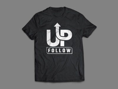 FOllow up t shirt typography t shirt design design branding vector flat creative  design graphic design teespring tshirtdesign tee t-shirt t shirt