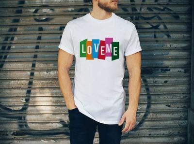 Love me T shirt design typography flat business card design tshirtdesign t shirt design teespring t-shirt t shirt creative  design graphic design