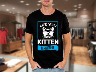 Meow t shit design t shirt design tshirtdesign teespring flat creative  design typography illustration t-shirt t shirt graphic design