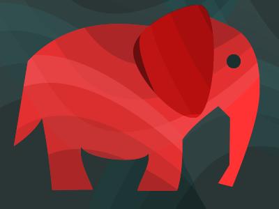 Elephant drib