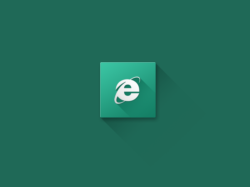 Internet Explorer icon flat design internet explorer browser