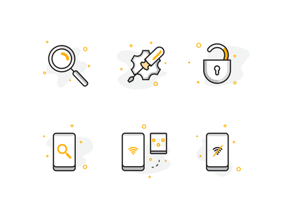 Utility Icons - Jablotron iphone screwdriver lock icon design utility icon set icons icon