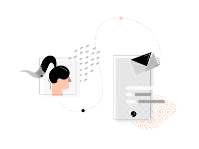 Ecomail Illustration 2 Personalized Dynamic Content By Gnosis Snop On Dribbble