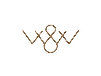 W&W logo logo letter monogram lettering logotype type w
