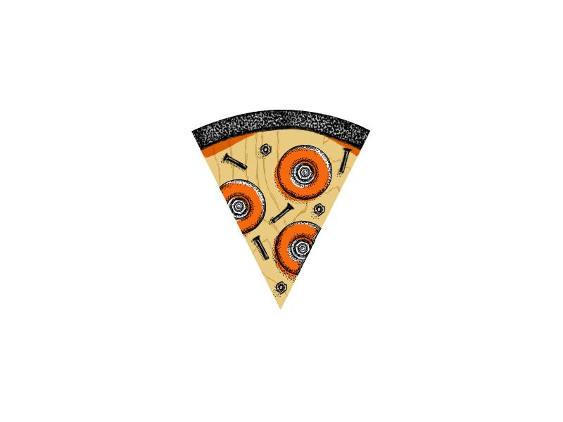 Rl skate pizza
