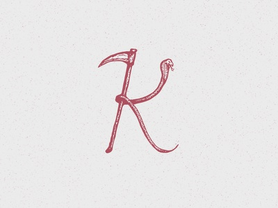 K of Kill illustration kill snake 36daysoftype k