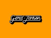 Gerd Janson - Logo