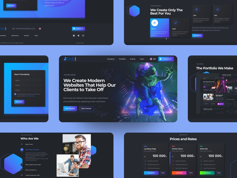 Web Service Interface Design trends 2020 trends spaceman space dark ui uidesign interface uiux ux homepage dark design ui