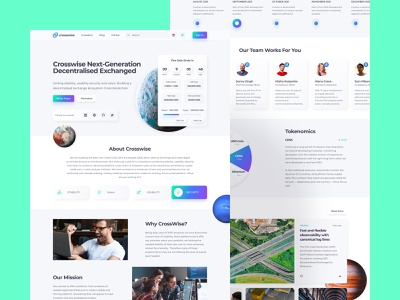 Crosswise Crypto Swap Platform swap web exchange bitcoin coin token cryptocurrency crypto neomorphism white clean design clean interface homepage ux design ui