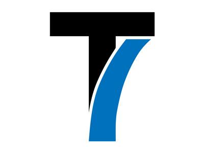 T7 Brand branding logo