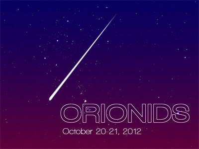 Orionids invite space