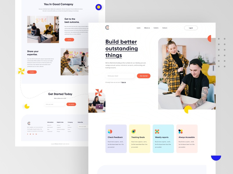 Co. Landing page
