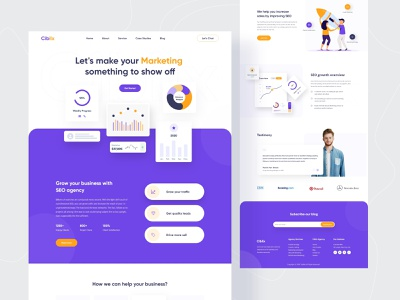 Cibilx - Product Landing Concept uiuxdesign seo seo agency twinkle digital marketing agency dailyui service analytics web interface trends clean ui landing page creative web design marketing agency stratup website agency