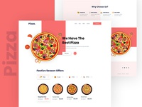 Pizza- Landing Page