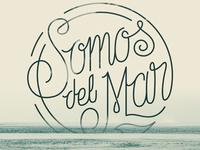 Lettering Del Mar