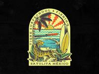 Tigre Vintage Stamp