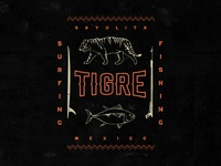 Tigre t-shirt design