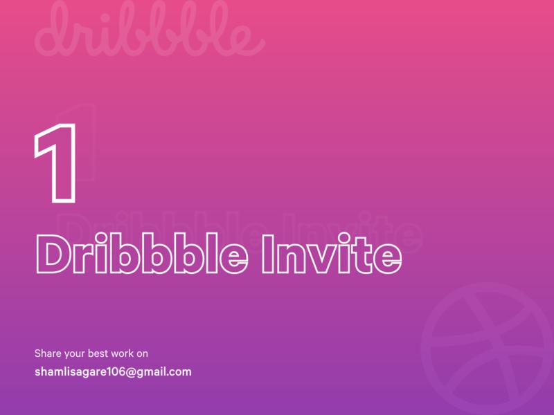 1 Dribbble Invite Giveaway dribbble shot iconography colour scheme typography dribbble invite giveaway dribbble invite