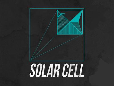 Solar Cell - Reggae/Dub/Soul Band Logo geometric art geometric design geometric texture poster design typography minimal art logo band logo band