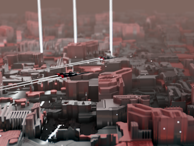 Displacement_0070 3d artist 3d spacefighter particles fog mist motion blur motion blur bokeh 3d animation animation mood spacecraft sci-fi sci fi cycles render render cycles 3d art