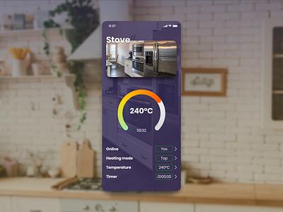 Settings screen home app samrt home dailyui 007 product design dailyui ios ux app figma ui design