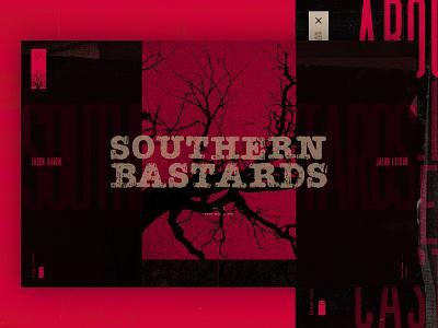 Southern Bastards Concept graphic novels comics comic books series shows movies animation microsite mainpage design web webdesign website ux ui
