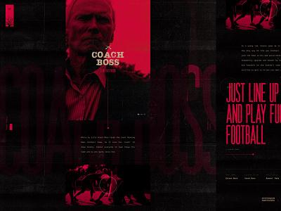 Southern Bastards — Coach Boss comic books comics tv series shows movies microsite mainpage homepage web website ux ui
