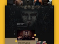 MGM vikings hollywood movie movies james bond design homepage web webdesign website ux ui