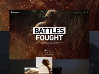 Marines.com Concept Design