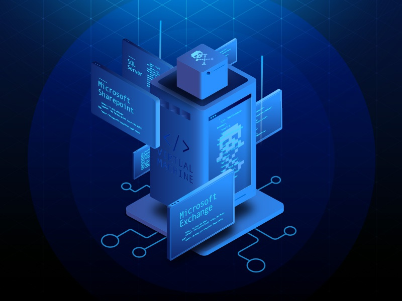 Microsoft Azure Icon By Leo Rabelo Dribbble