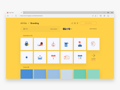 Lingo in your browser! share sync cloud visual library assets pc windows browser app web lingo