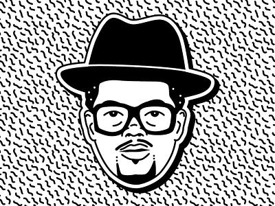 DMC cartoon run dmc darryl mack dmc rapper