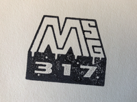 MSG317 Stamp