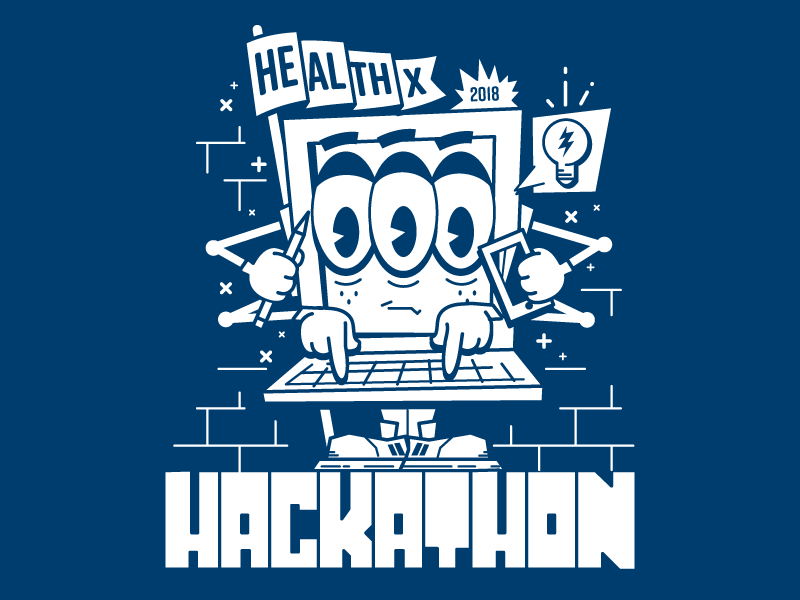 Hackathon T-shirt Graphic technology tshirt t-shirt nerd computer hackathon hacker