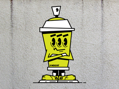 Not Impressed Spray Can