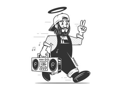 MSG317 Mascot
