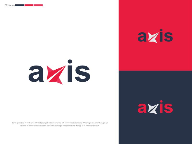 axis logo design logo designer rocket logo dailylogochallenge branding rocketship logo logodesign