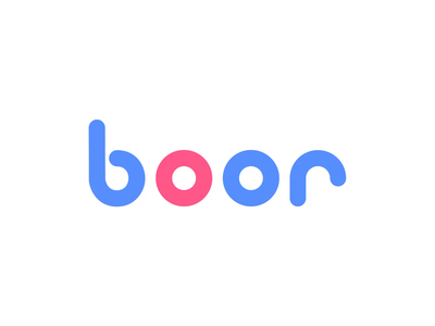 Boor - Logo animation after effects reveal logo motion design animated logo motiongraphics motion ae logoanimation logodesign 2d animation
