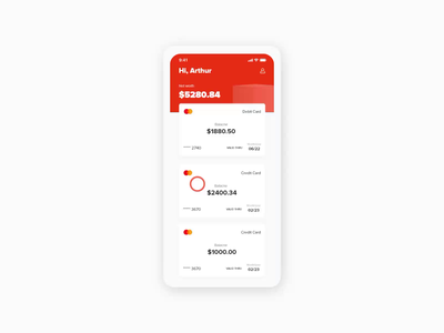 Banking app motiongraphics motion design animation design finance banking app bank ae 2d animation ui uiux
