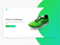 Landing page: Daily UI challenge