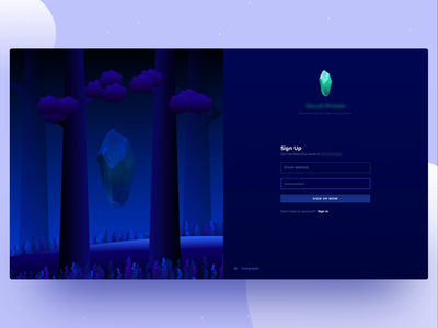 Secret - Sign Up Animation ui  ux uiux uidesign ui connect login design login screen login form login page login sign up screen sign up page sign up form sign up ui sign in sign signup sign up