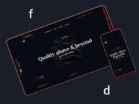 New Website flat logo agency studio ux website ui branding web identity design
