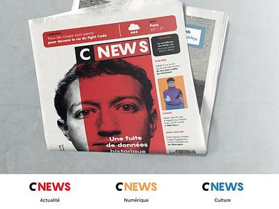 CNEWS page mise en page quotidien gratuit france journal tabloid cnews edition
