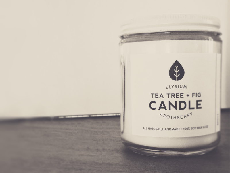 Candle Labels packaging candles brand labels